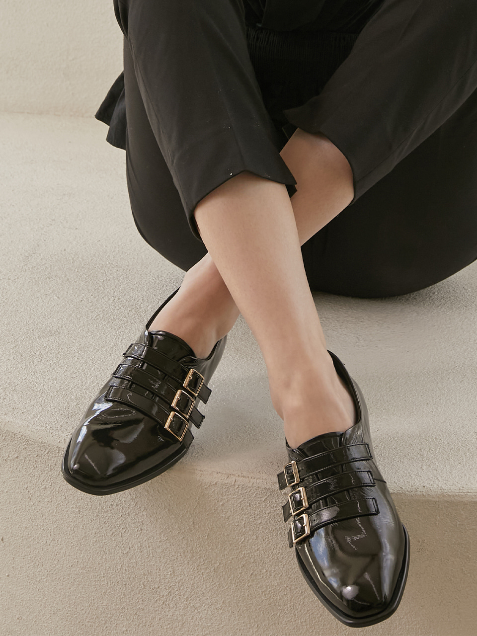 CATHY LOAFER(Black)